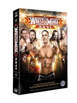 Wrestlemania 26 DVD Cover