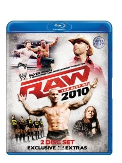 WWE - RAW: The Best of 2010 Blu-Ray Cover
