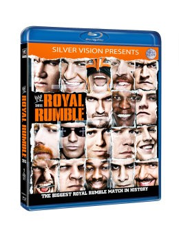 Royal Rumble 2011 Blu-Ray Cover