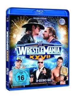 Wrestlemania 27 Blu-Ray Cover