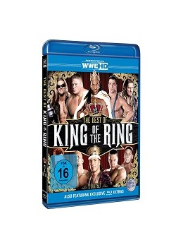 The Best Of King Of The Ring Blu-Ray Cover
