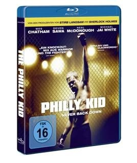 The Philly Kid Never Back Down Blu-Ray Cover