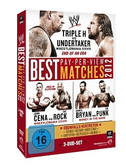 Best Pay-Per-View Matches 2012 Cover