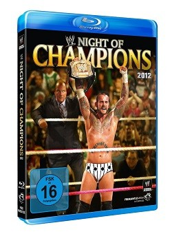 Night of Champions 2012 Blu-Ray Cover