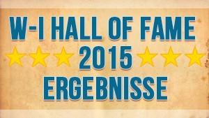 Hall of Fame Ergebnisse