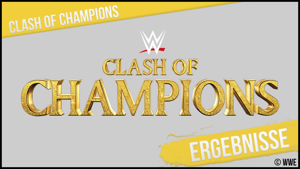 Clash Of Champions Ergebnisse